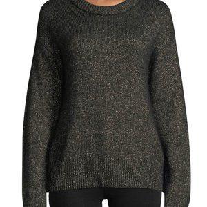 A.L.C Bowen Metallic Alpaca Blend Pullover Sweater